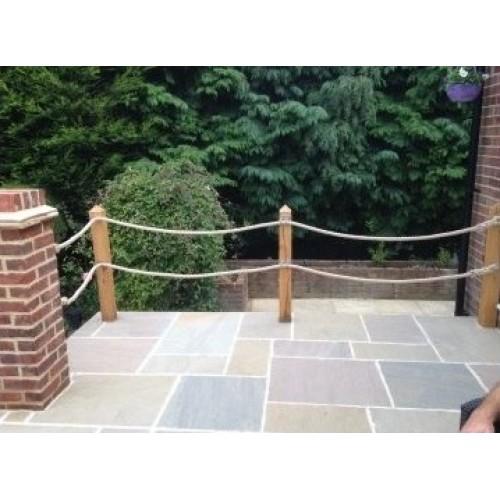 Rope Fittings - Garden decking rope